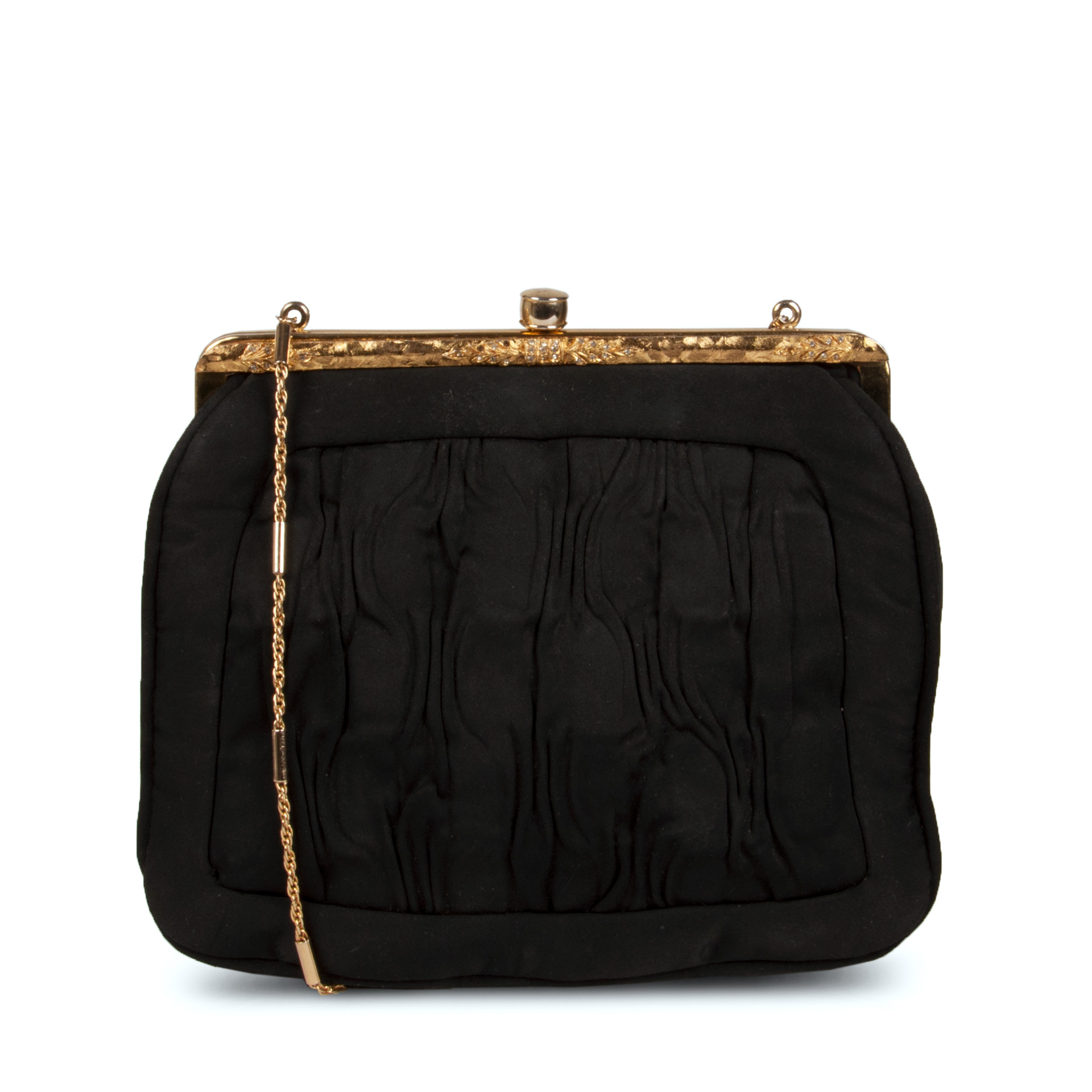 Lou Taylor Clutch Bag With Mirror Inside